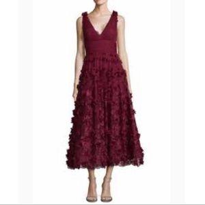 Marchesa Notte midi beautiful dress